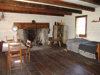 18th Century Valley Cabin Winchester Frederick County